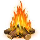 bukova drva ogenj