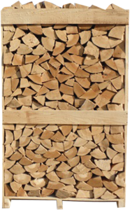 bukova drva na paletah